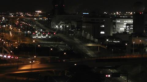 Tokyo Narita Airport at Night 05 Footage