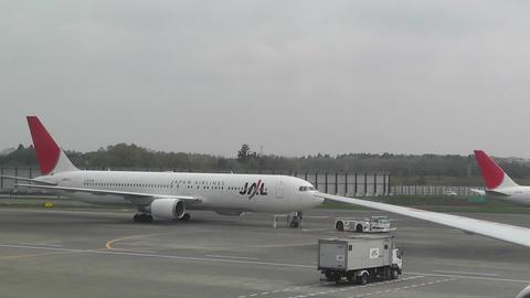 Tokyo Narita Airport Terminal 2 03 jal Footage