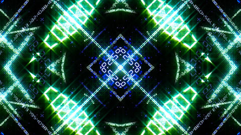 Kaleidoscope ND 2 Bc Number HD Animation