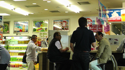 Convenience Store in Japan 01 Stock Video Footage