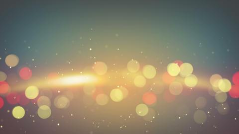 orange light flares abstract background loop 4k (4096x2304) Animation