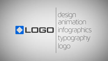 Business Card Logo and Text via Line Revealing Animation After Effects Project