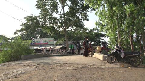 Nyaung Shwe, streetlife Footage