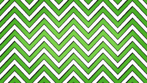 White Green Arrows Lines Zigzag Animation Seamless Looped... Stock Video Footage