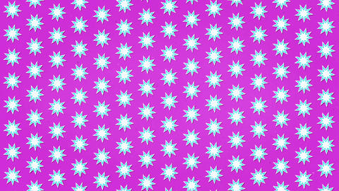 White Stars Pink Clean Background Animation Seamless Looped Texture Animation
