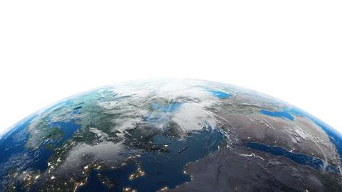 Earth w A1n 4K Animation