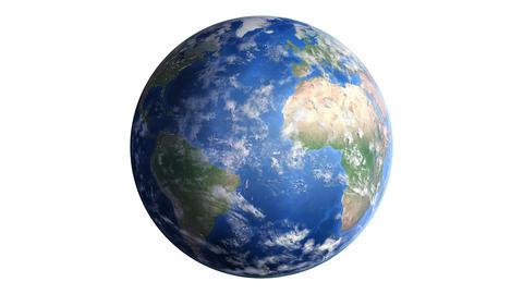 Earth w B1day 4K Animation