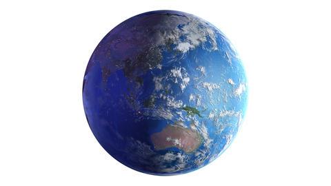Earth w B2nb 4K Animation
