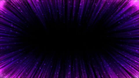 Colorful Light Ray Border Animation - Loop Purple Animation
