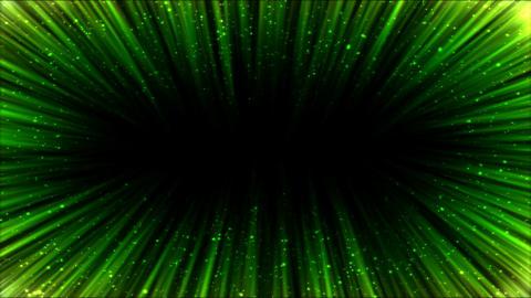 Colorful Light Ray Border Animation - Loop Green Animation