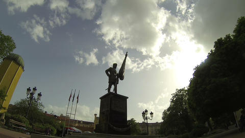 Time lapse in Sofia, Bulgaria Footage