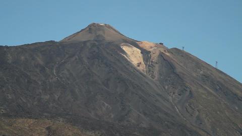 Pico Del Teide stock footage