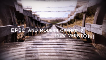 Epic and Modern Opener 2 After Effects Template
