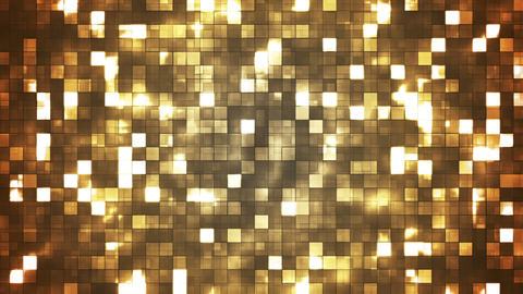 Broadcast Twinkling Firey Light Squares 10 stock footage