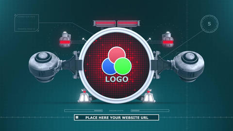 Logo Lifter Jet After Effects Template