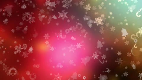 Christmas And New Year Background stock footage