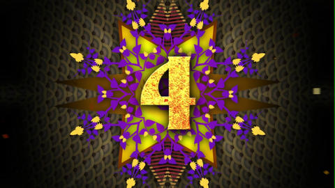 Kaleidoscope Countdown After Effects Template