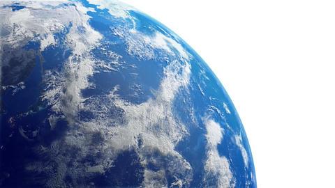 Earth w C2n 4K Animation