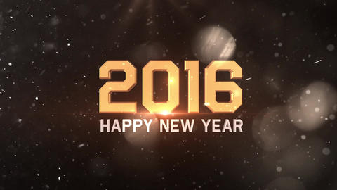2016 Happy New Year Animation