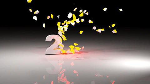 2016 new year Animation