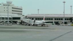 Okinawa Naha Airport 05 jal Footage
