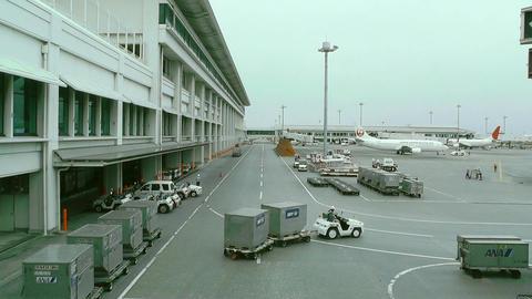 Okinawa Naha Airport 08 Stock Video Footage