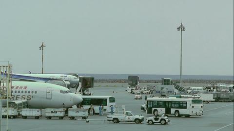Okinawa Naha Airport 12 Stock Video Footage