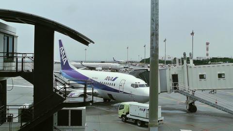 Okinawa Naha Airport 14 ana Stock Video Footage