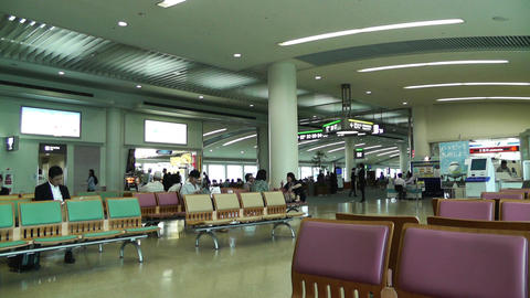 Okinawa Naha Airport Terminal 01 Footage