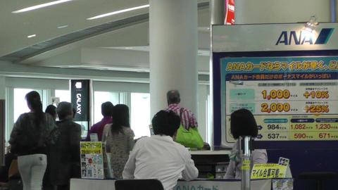 Okinawa Naha Airport Terminal 03 handheld Footage