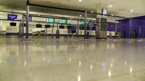 Sydney Kingsford Smith Airport Check In Counters 01 Footage