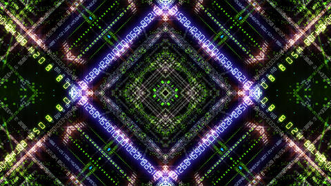 Kaleidoscope ND 2 Ag Number HD Animation