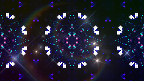Kaleidoscope ND 2 Bb F HD Stock Video Footage