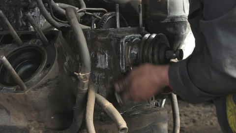 car repair Stock Video Footage