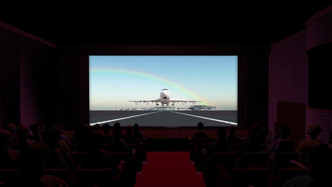 映画館, Stock Animation