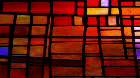 Stained Glass4235 Stock Video Footage