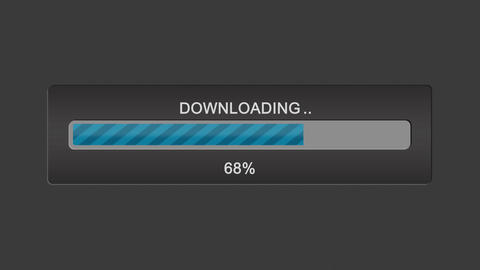 Download progress bar Footage