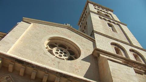 church lutheran 1 Stock Video Footage