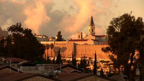 Jerusalem wall 1 Stock Video Footage