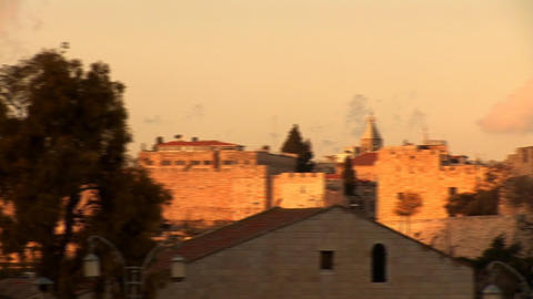 Jerusalem wall 1 Stock Video Footage