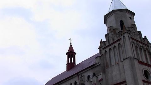 kostel zabolotiv 8 Stock Video Footage