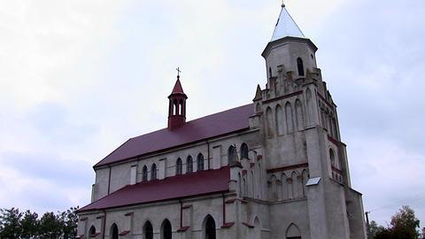 kostel zabolotiv 12 Stock Video Footage
