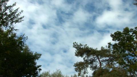 sky pan 4 Stock Video Footage
