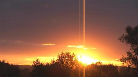 sunset 19 Stock Video Footage