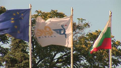 bulg flags 3 Footage