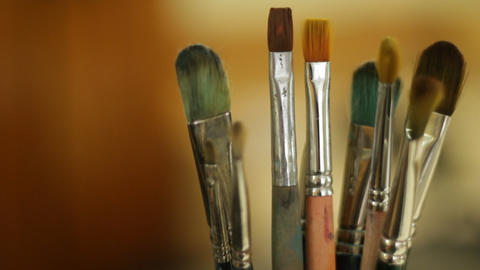 brush background Stock Video Footage