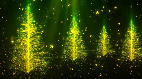 Abstract Christmas Tree 2 Animation