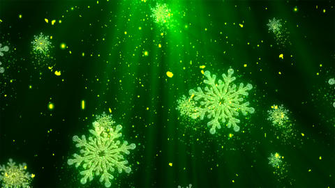 Christmas Holiday Glitters 2 Animation