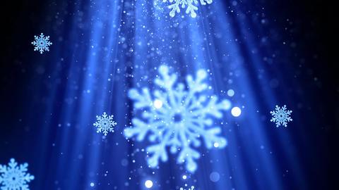 Christmas Snowflakes 2 Animation