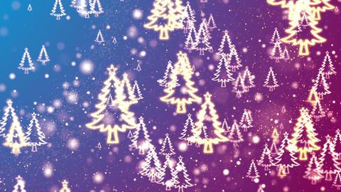 Christmas Trees Animation